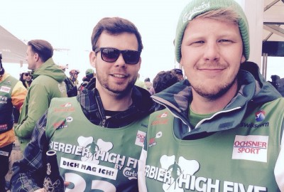 DICH MAG ICH! Carlsberg High Five Verbier